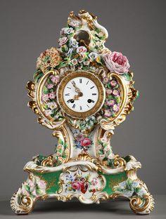Старинные часы из фарфора и с фарфоровыми вставками. Комментарии : LiveInternet - Российский Сервис Онлайн-Дневников