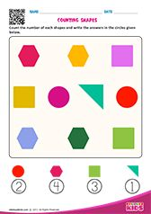 Math Counting Objects worksheets pre-k Shape Worksheets For Preschool, Number Worksheets Kindergarten, Math Addition Worksheets, Shapes Worksheets, Preschool Math, Math Books, Math For Kids, Afrikaans, Literacy Activities