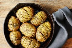 Hasselback Potato Skillet Bake, a recipe on Food52