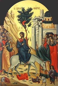Let these branches be for us signs of His victory, and grant that we who bear them in His name may ever hail Him as our King, and follow Him in the way that leads to eternal life .. The Sacred Page: The Jewish Roots of Palm Sunday