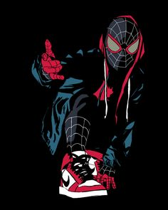 My Concept Art of Miles Morales Black Spiderman, Spiderman Spider, Amazing Spiderman, Miles Morales Spiderman, Marvel Background, Marvel Drawings, Art Drawings, Hq Marvel, Avengers Wallpaper