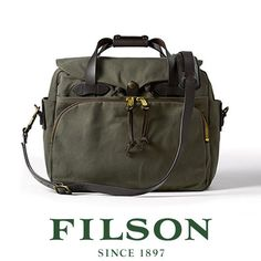 Alpha Expedition - FILSON Padded Computer Bag 70258 - Otter Green, $385.00 (http://www.alphaexpedition.com/bags-packs/briefcase-laptop-bags/filson-padded-computer-bag-70258-otter-green/)