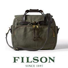 Alpha Expedition - FILSON Padded Computer Bag 70258 - Otter Green, $385.00 (http://www.alphaexpedition.com/bags-packs/briefcase-laptop-bags/filson-padded-computer-bag-70258-otter-green/)