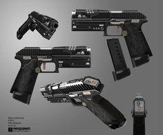 ArtStation - Titanfall 2 P2015 Pistol, Ryan Lastimosa