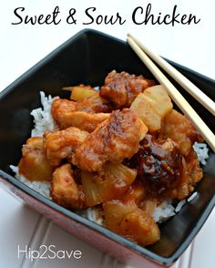 Easy recipe for sweet and sour chciken Hip2Save