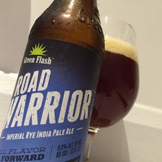Green Flash Road Warrior - this is the first rye beer of any sort that I've actually liked.  Growler form and didn't know much about it when I got it, perhaps not knowing the rye aspect made all the difference?