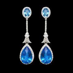 Alexandra Sapphire Earrings