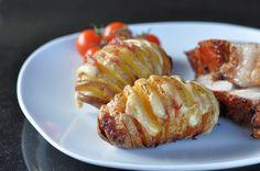 Fächerkartoffeln mit Bacon