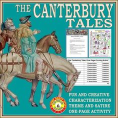 satire in the canterbury tales prologue