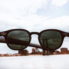 The East River never looked so clear, thanks to The #LEMTOSH-P...P as in polarized. Available now at MOSCOT Shops and online at moscot.com. #newrelease