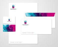 Corporate Identity by Pradeep Sankunny , via Behance