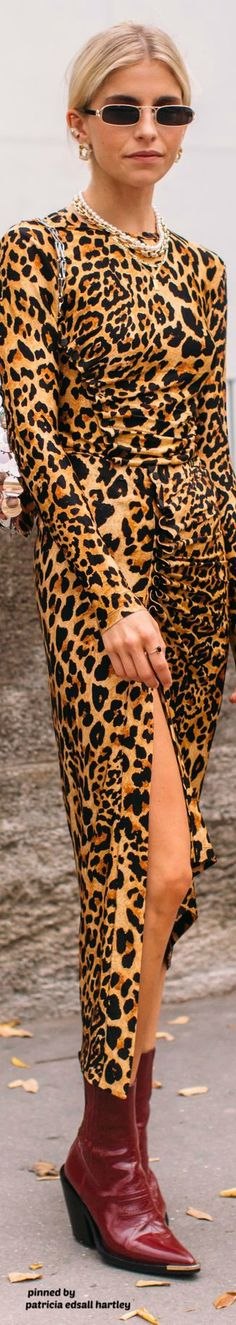 Latest news, trends, people and opinion for fashion, beauty, style and culture Animal Print Fashion, Fashion Prints, Fashion Accessories, Street Style, Stylish, Chic, Beauty, Dresses, Women