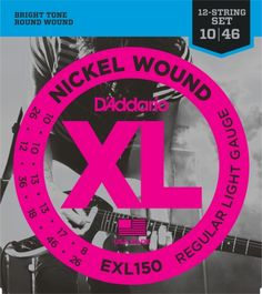 DAddario EXL150 Regular Light 12String Electric Guitar Strings * To view further for this item, visit the image link.Note:It is affiliate link to Amazon.