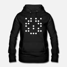 RandomWhiteDot4 Frauen Hoodie News Design, Hoodies, Random, T Shirt, Womens Hoodie, Color Black, Supreme T Shirt, Sweatshirts, Tee Shirt
