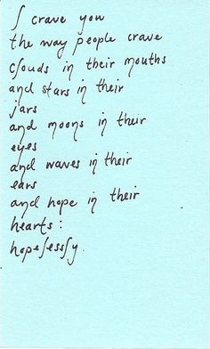 """crave you hopelessly"" - love this! So #passionate #love #quotes"