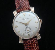 Men's 1959 Waltham Watch w/ Sunburst Lugs | Strickland Vintage Watches