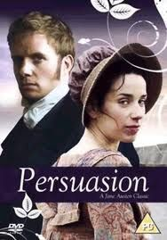 Persuasion by Jane Austen So underrated. I think this one is better than Pride and Prejudice. Not that I don't love me some Elizabeth and Darcy, but, and I think she would agree, Jane Austen improved with time like a fine wine. Period Movies, Period Dramas, Love Movie, Movie Tv, North And South, Jane Austen Movies, Elizabeth Gaskell, Image Film, Bon Film
