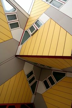 Cube Housing, Piet Blom | Rotterdam | Netherlands | MIMOA