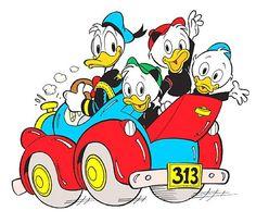 Donald Duck, Huey, Dewey and Louie