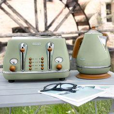 Green Kitchen Accessories Delonghi Toaster Ctov 4003gr Http Www Zocko Z