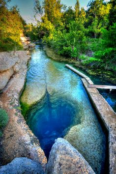 Jacob's Well, Texas in United States of America