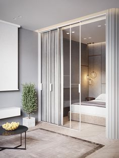 """Sometimes luxury comes in small packages – while many may envision a """"luxury home"""" as necessitating a sprawling floor plan, these stylish spaces take a more m Small Apartment Interior, Apartment Design, Studio Apartment, Apartment Therapy, Luxury Home Decor, Home Decor Trends, Small Apartments, Small Spaces, Design Hall"""