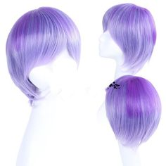 Coswigger® Diabolik Lovers Sakamaki Kanato Hair Gradient Purple Cosplay Wig * You can find more details by visiting the image link.