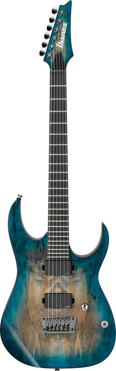 Ibanez RGIX20FESM Iron Label - Foggy Stained Blue | Sweetwater.com