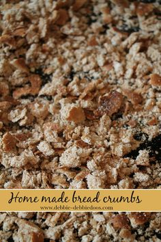 how to make whole wheat bread crumbs