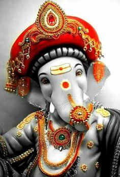 collection of Lord ganesha images with quotes in hindi . beautiful ganesh stuti quotes and amazing ganpati sanskrit sloka. Shri Ganesh Images, Sri Ganesh, Ganesh Lord, Ganesha Pictures, Hanuman Images, Lakshmi Images, Lord Ganesha Paintings, Lord Shiva Painting, Ganesha Drawing