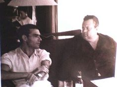 Con Orson Welles