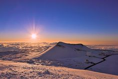 Sunrise at Mauna Kea