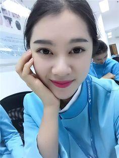 【China】 Xiamen Airlines cabin crew / 厦門航空 客室乗務員 【中国】 Airline Cabin Crew, Xiamen, Flight Attendant, Pretty Woman, Asia, Beautiful, Girls, Pretty Girls, Toddler Girls