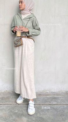 Modern Hijab Fashion, Street Hijab Fashion, Hijab Fashion Inspiration, Muslim Fashion, Mode Inspiration, Casual Hijab Outfit, Casual Outfits, Ootd Hijab, Fashion Outfits