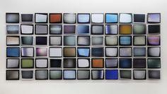 Penelope Umbrico, 'Signals Still', 2011. An odd taxonomy of TV static.