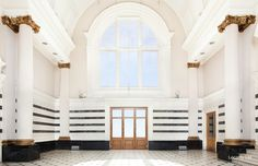 LOC 2034 Columns, Marble, Event space, Hall