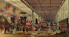 1851 – Todas as imagens da primeira Exposição Global da história