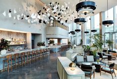 Manhattan Loft Corporation teams up with Space Copenhagen for the design of The Stratford Copenhagen Design, Space Copenhagen, One World Trade Center, Top Hotels, Best Hotels, Amazing Hotels, Luxury Hotels, Of Wallpaper, Designer Wallpaper