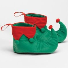 Christmas Elf Shoes for an Elf Costume