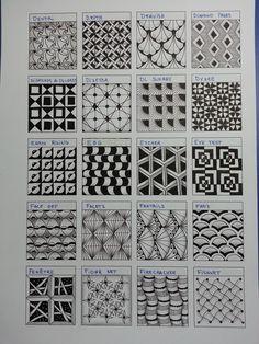 Zentangles~D~F