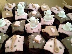 Cupcakes Chá bar