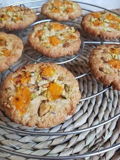 Cookies abricot pistache (healthy et vegan) – By Flora B
