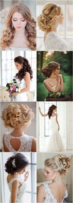 long bridal hairstyles for long hair
