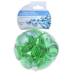 Crafters Square Jumbo Green Accent Gems, 14-oz. Bag