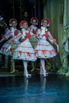 "Vaganova Ballet Academy students performing ""The Fairy Doll"" at the Hermitage Theatre. October Photos by Viktor Vasiliev."