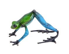 """Namaste"" bronze sculpture from The Frogman Tim Cotterill"