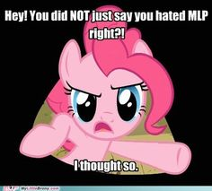 my little pony, friendship is magic, brony - Pinkie Always Watches