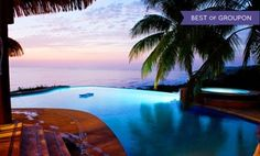 Groupon - 3-, 4-, 5-, 6- or 7-Night Adults-Only Stay for Two with Adventure Package at Hotel Vista de Olas in Costa Rica in Puntarenas, Costa Rica. Groupon deal price: $599
