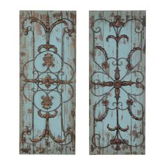 Decorative Wall Plaques adelaide wall plaque, set of 2 | walls, decorating and room