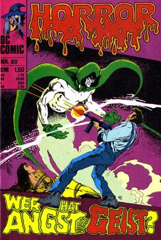 Cover for Horror series) Comics Story, Dc Comics, Comic Book Covers, Comic Books, The Spectre, Mike Mignola, Classic Comics, Pulp Art, Magazines